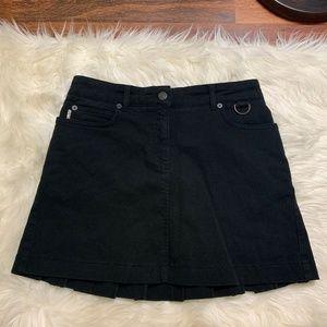Burberry London Pleated Mini Skirt Size 4
